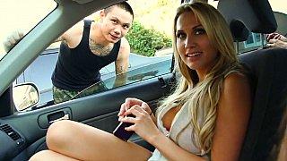 Girls picking up some random guys