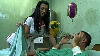 Aletta takes very good care of her patient