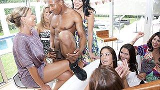 A bachelorette party