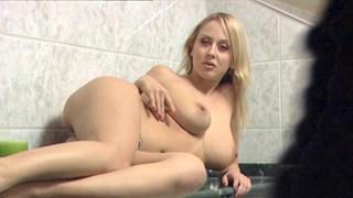 Curvy Mandy enjoying a black dick