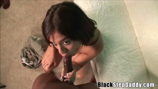 Black Pervert Creampies Busty Brunette Slut
