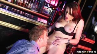 Sexy and pretty bitch Samantha Bentley likes hard fucking