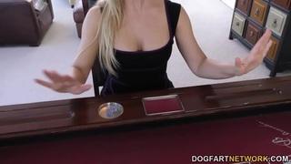 Cherie DeVille gets gangbanged by big black cocks