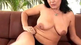 Mature MILF Enjoying Her Toy