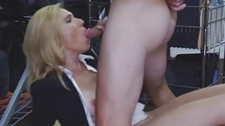 Lovely milf mom sell her wet pussy for cash