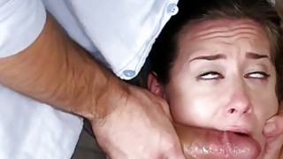 Small tits girl Cassidy Klein slammed real hard by perv dude