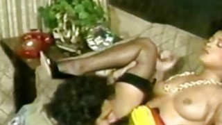 Nina DePonca and Ron Jeremy  Ebony Babe