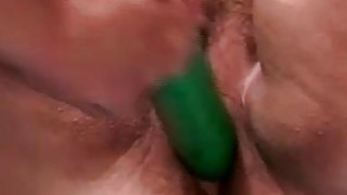 Midget dildoing two duge bitches
