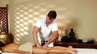 Poor beauties banged hard in special masseur