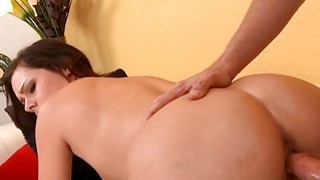 Bitch actually adores getting fucked hard at home