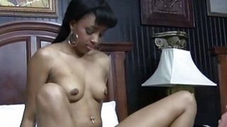 Slutty ebony acquires an fuckmate for wild sex