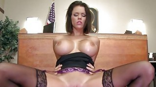 Brazzers  Peta Jensen gets some lawyer dick