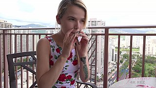 Finger-blasting hotel action