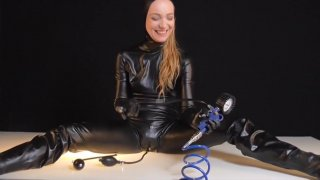 Dildo Pants Latexsuit Breathplay