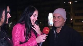 MAGMA FILM Blowing a stranger in Berlin