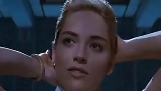Basic Instinct, infamous interview scene - Pornmoza