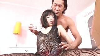 Bottles of cum over Japanese gyaru Uta Kohaku Subt