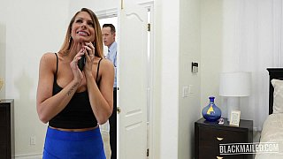 Blackmailed stepmom brooklyn's 1st DP