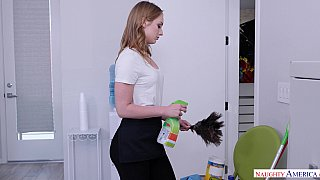 Forget the ladder Daisy Stone climbs big dick to get a job