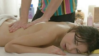 Hawt bombshell acquires doggy style after massage