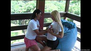 Wild lesbians in a fisting frenzy