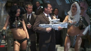 Men In Black A Hardcore Parody by Alektra Blue,  India Summer,  jessica drake,  Kaylani Lei,  Misty Ston