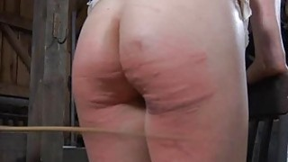 Tied up beauty acquires gratifying for her twat