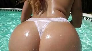 Big Ass Julianna Vega fucked by the pool