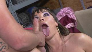 Dana DeArmond gives the guy a good sucking