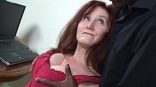 GILF redhead and a BBC