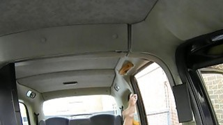Cheating girlfriend anal sex with the driver in the cab