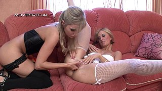 Adelina and xandi are two extremely dirty fisting sluts