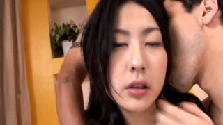 A bunch of guys finger and eat delicious brunette Megumi Haruka