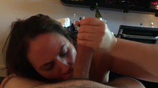 Hotwife Carrie Corrupted Hotel Cum Slut Sucking A Big Cock #carriecorrupted