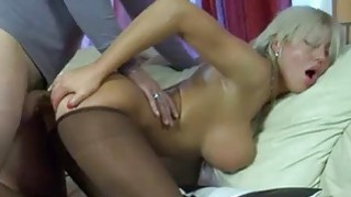 Anal in pantyhose