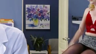 Sexy horny patient Samantha Rone is in need of a hardcore emergency fuck