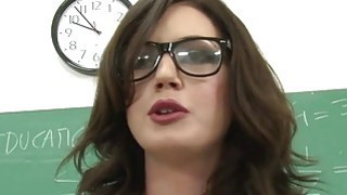 Class teacher Sheena gets load from students