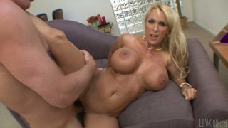 Dirty-minded Mark Wood fucks spoiled and hot blondie Holly Halston