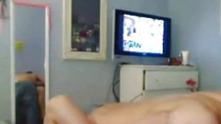 Amateur teen couple makes hot action at home