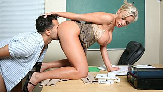 Miss. Kate Frost learns the lesson from her student