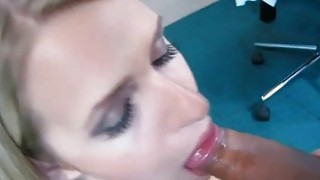 Massive rod satisfies immodest hottie to the max
