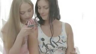 Naughty teenager women share a boyfriend