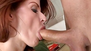 Hot bombshell is working out her horny moist cunt