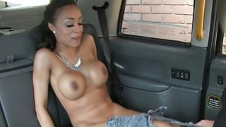 Super hot babe banged by nasty driver
