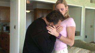 Ladyboy Lucia Matthews sucks cock and gets her anus fucked
