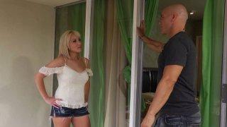 Romantic sex fun with sweet blonde  Jasmine Tame