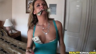 Amanda Blow and  Voodoo have a passionate sex